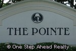 sign for The Pointe