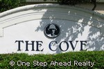 sign for The Cove