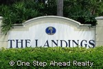sign for The Landings