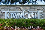 Town Gate community sign